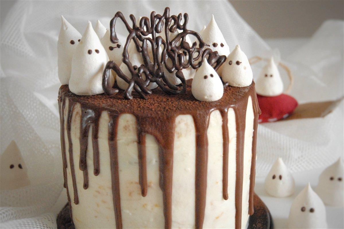 Idee Per Decorare Una Torta torta di halloween alla zucca
