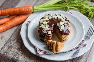 Pancake alle carote senza burro e senza uova