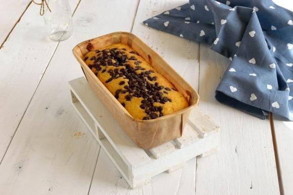 Plumcake al mascarpone e gocce di cioccolato