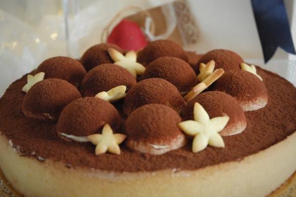 Crostata tiramisù con cioccolato fondente