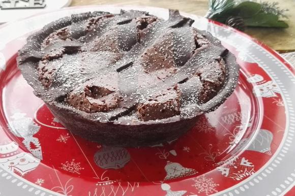 Pastiera napoletana al cioccolato