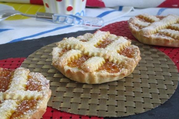 Crostatine con marmellata di arance Bimby