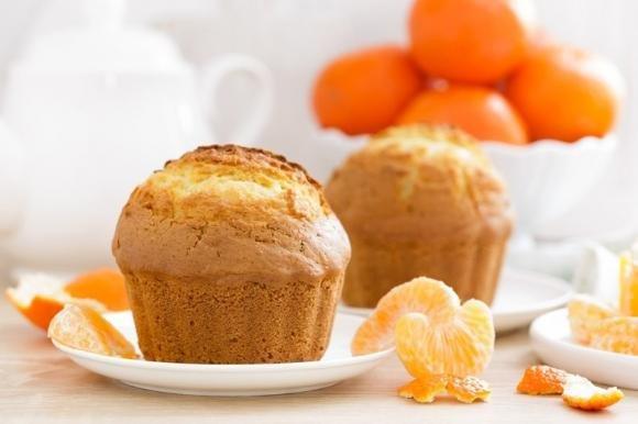 Muffin soffici ai mandarini