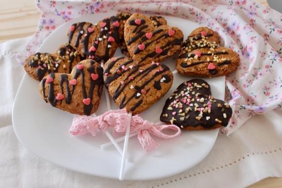 Biscotti cuore di San Valentino