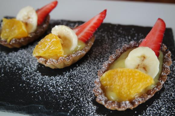 Tartellette vegane alla frutta