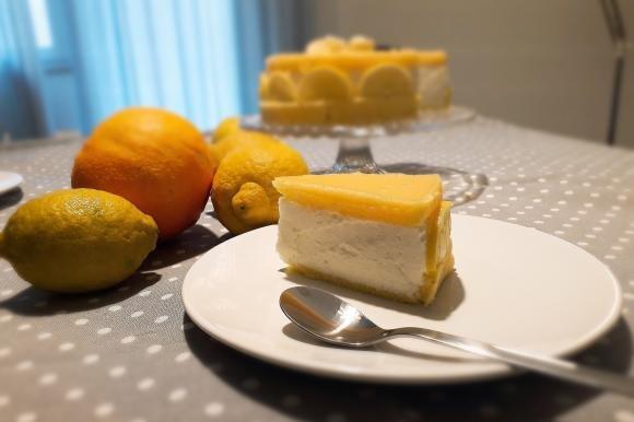 Torta Quark e agrumi