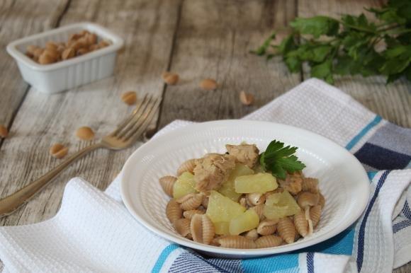 Gnocchetti con tonno e patate