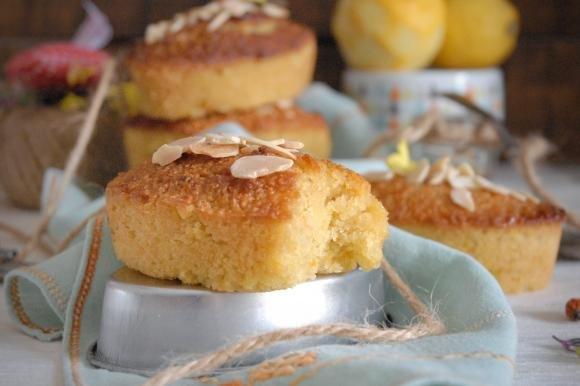 Tortine tunisine mandorle e miele