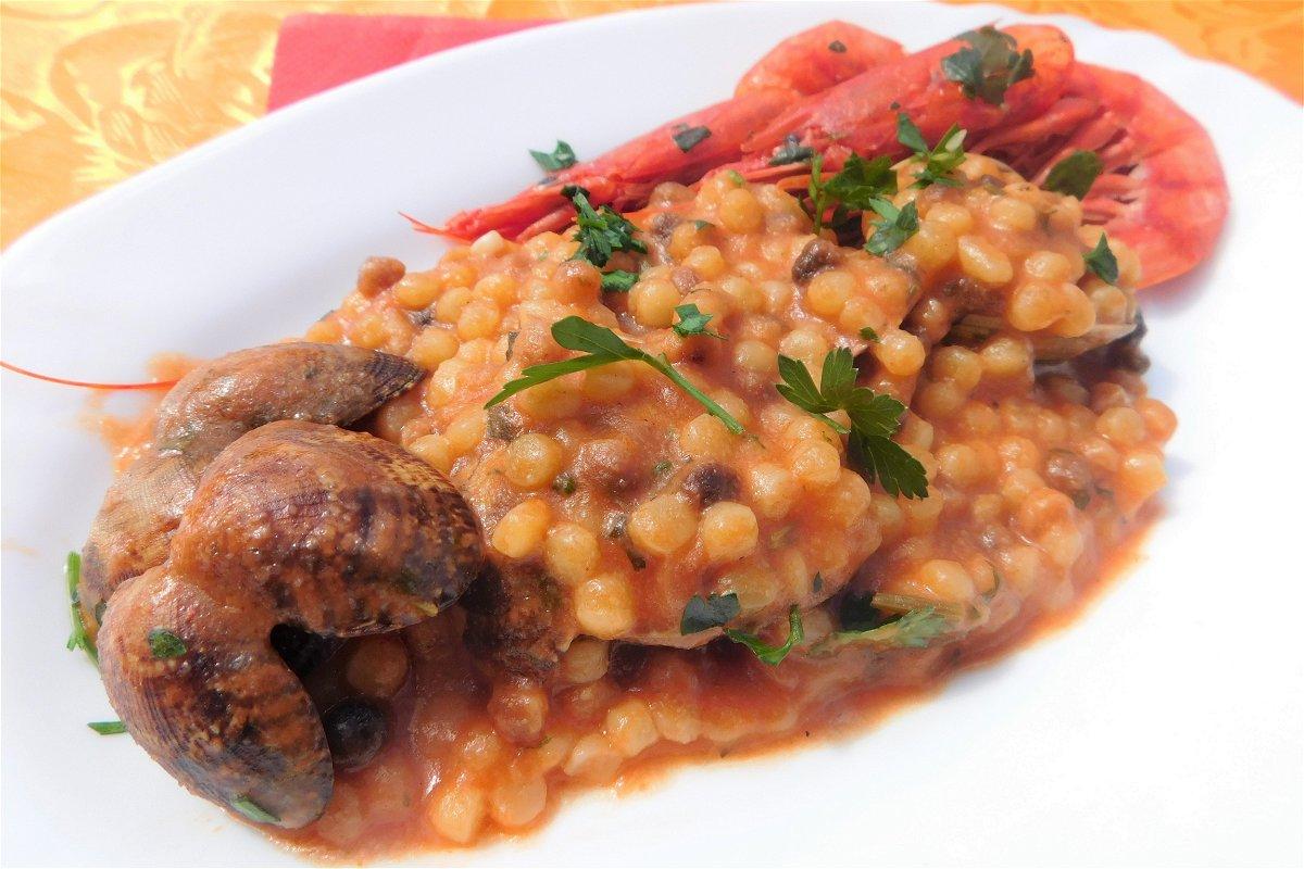 Fregola Con Vongole E Gamberi Ricetta Di Fidelity Cucina