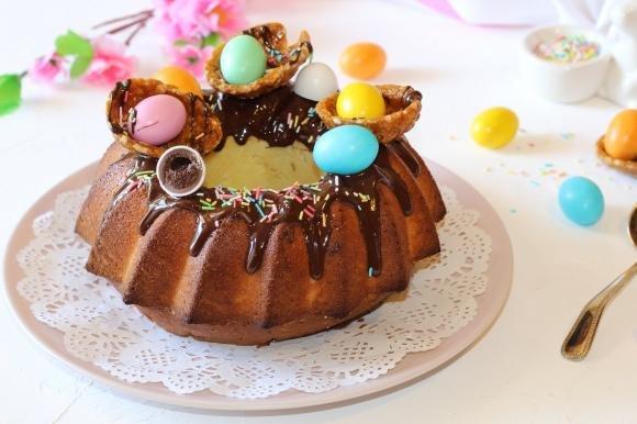 Ciambella 7 vasetti per Pasqua