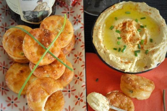 Muffin al caprino ed erbe fresche