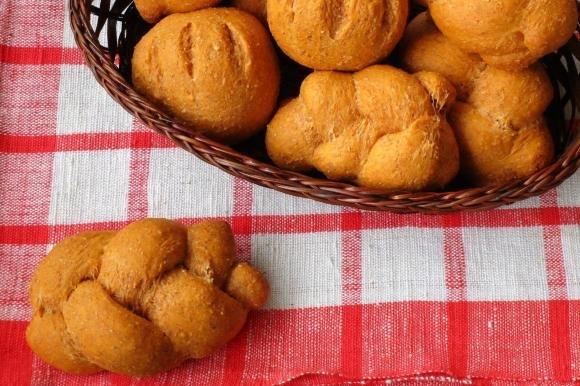 Bocconcini di pane integrale al pomodoro