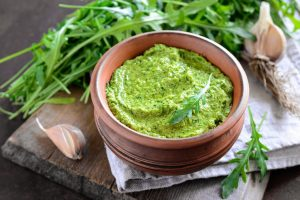 Pesto di rucola fatto in casa