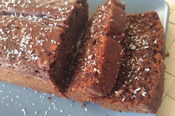 Plumcake 7 vasetti con cocco e cacao