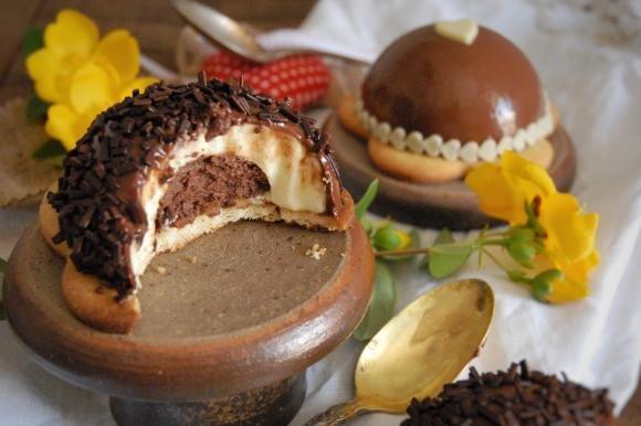 Cheesecake al cioccolato e nocciola