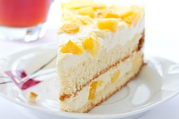 Torta fredda ananas e cocco