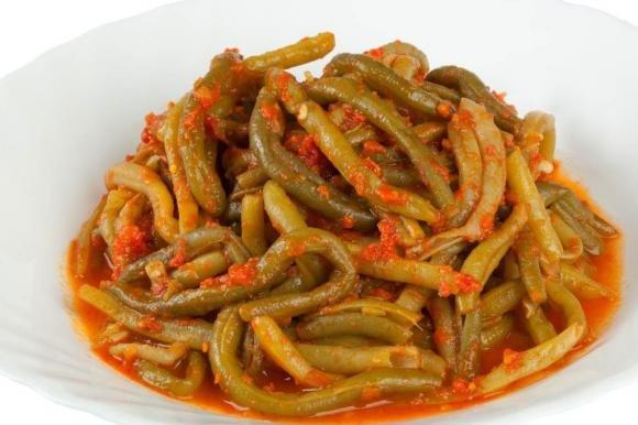 Fagiolini in umido al pomodoro