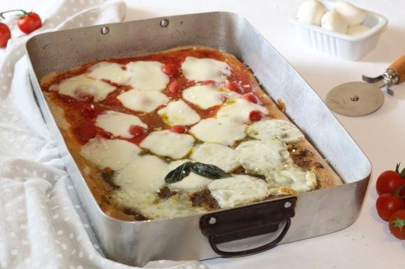 Pizza in teglia bigusto