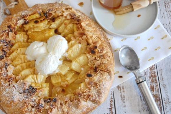 Galette ananas e cocco