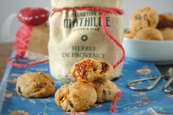 Cookies salati mediterranei