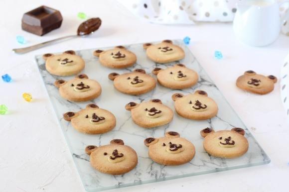 Biscotti orsetto alle mandorle