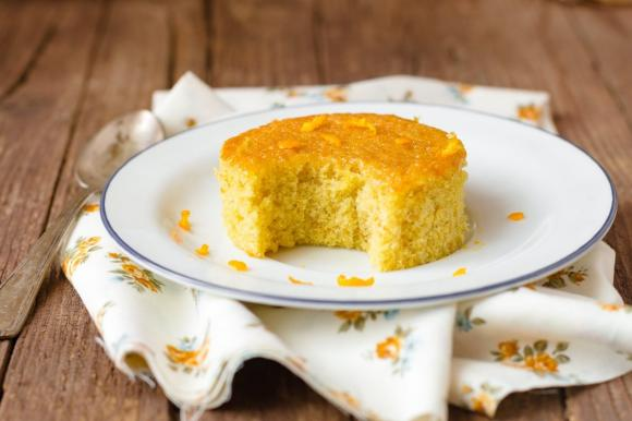 Torta all'arancia e olio extravergine d'oliva