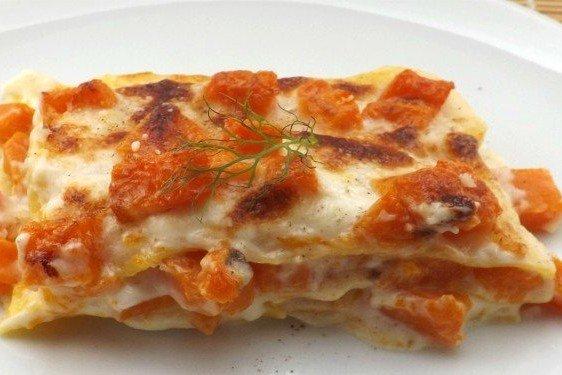Lasagne zucca e taleggio