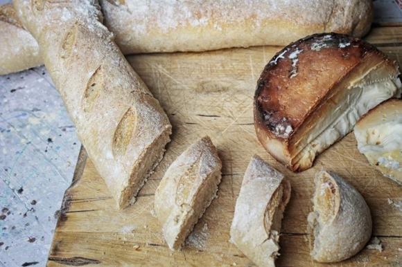 Mini baguette con farina manitoba