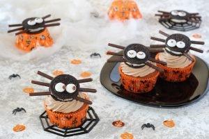 Cupcake ragnetto all'arancia e nutella
