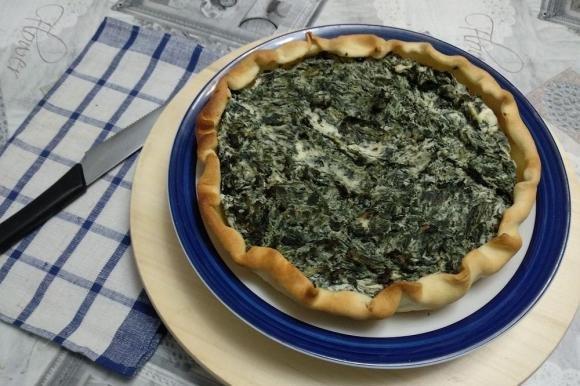 Torta salata ricotta e spinaci bimby