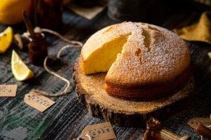 Torta Giuditta soffice al limone