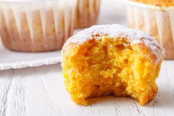 Muffin alla zucca soffici