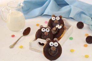 Ciambelline orsetto al cocco