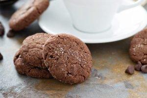 Biscotti senza glutine e lattosio al cioccolato
