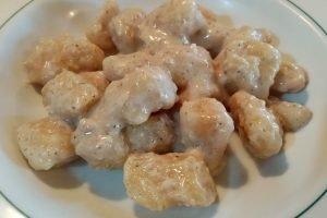 Gnocchi di patate con salsa di noci
