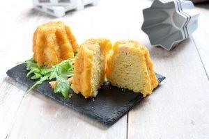 Pandorini salati con formaggio e prosciutto cotto