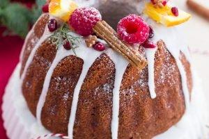 Gingerbread Bundt Cake natalizia