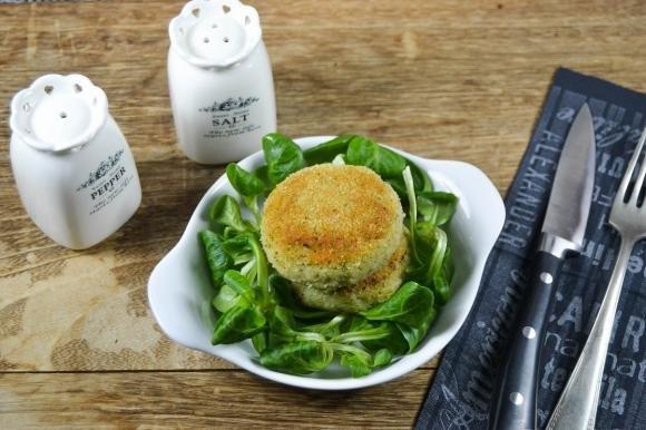 Mini burger con broccoletti e topinambur