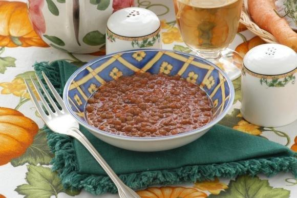 Lenticchie in umido con pomodoro