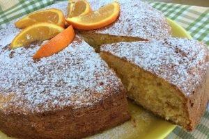 Pan d'arancio senza lattosio
