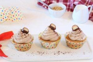 Cupcake soffici al burro di arachidi