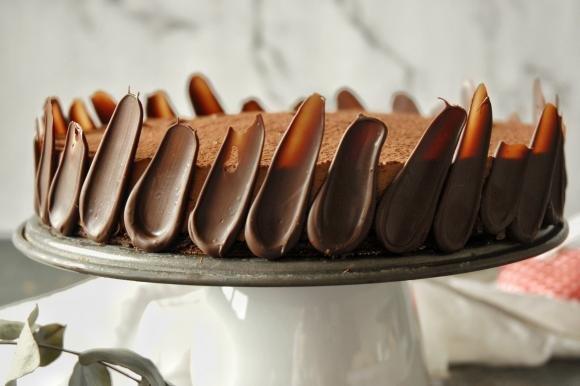 Torta Afrika al cioccolato e cacao senza glutine
