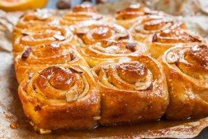 Torta di rose Bimby all'arancia
