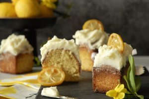 Torta al limone e olio d'oliva