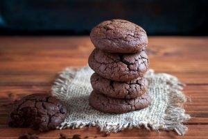 Biscotti al cacao senza burro
