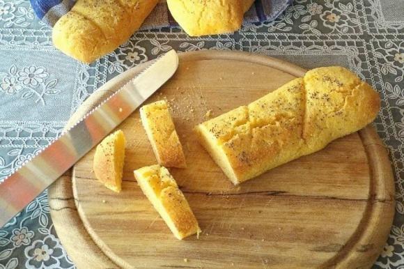 Baguette gialle con metodo biga