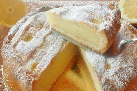 Crostata vaniglia e limone