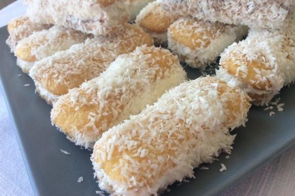 Pavesini gelato al cocco e nutella