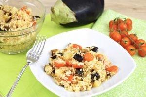 Insalata di riso alla parmigiana