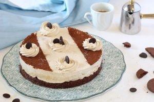Torta semifreddo al caffè